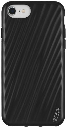 цена Чехол Tumi 19 Degree Case для iPhone 7. Материал пластик. Цвет черный матовый. онлайн в 2017 году