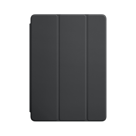 Чехол-обложка для iPad Air / iPad Air 2 Apple Smart Cover Grey флип, полиуретан 360 degree rotatable cover bluetooth v3 0 64 key keyboard for ipad air black