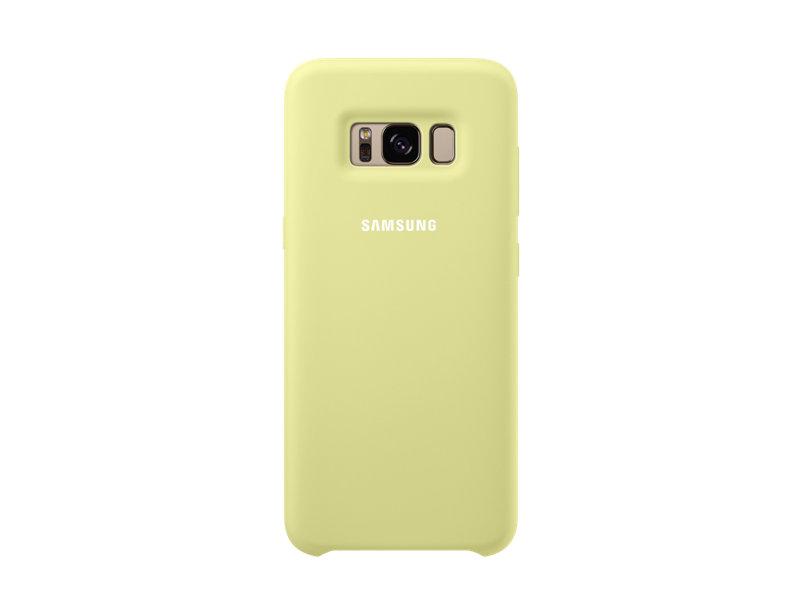 Чехол Samsung EF-PG955TGEGRU для Samsung Galaxy S8+ Silicone Cover зеленый клип кейс samsung silicone cover для galaxy s8 зеленый