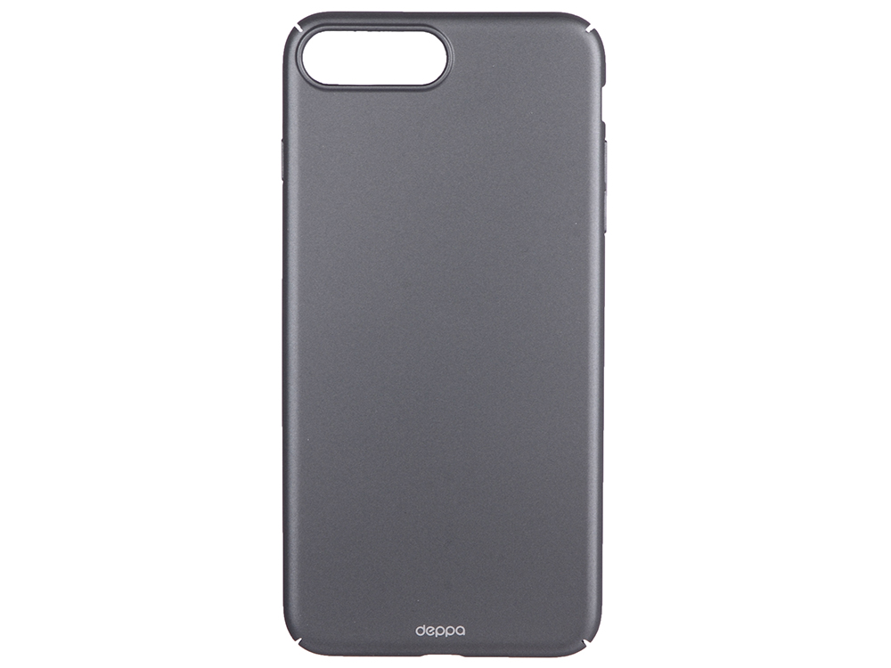 Чехол-накладка для Apple iPhone 7 Plus Deppa 83274 Air Case Black клип-кейс, поликарбонат чехол клип кейс apple для apple iphone 7 plus 8 plus mrgc2zm a желтый