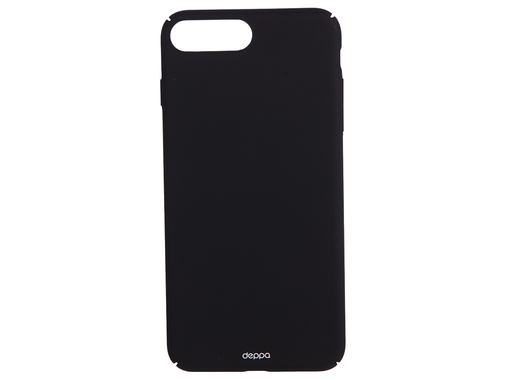 Чехол-накладка для Apple iPhone 7 Plus Deppa 83272 Air Case Black клип-кейс, поликарбонат чехол клип кейс apple для apple iphone 7 plus 8 plus mrgc2zm a желтый