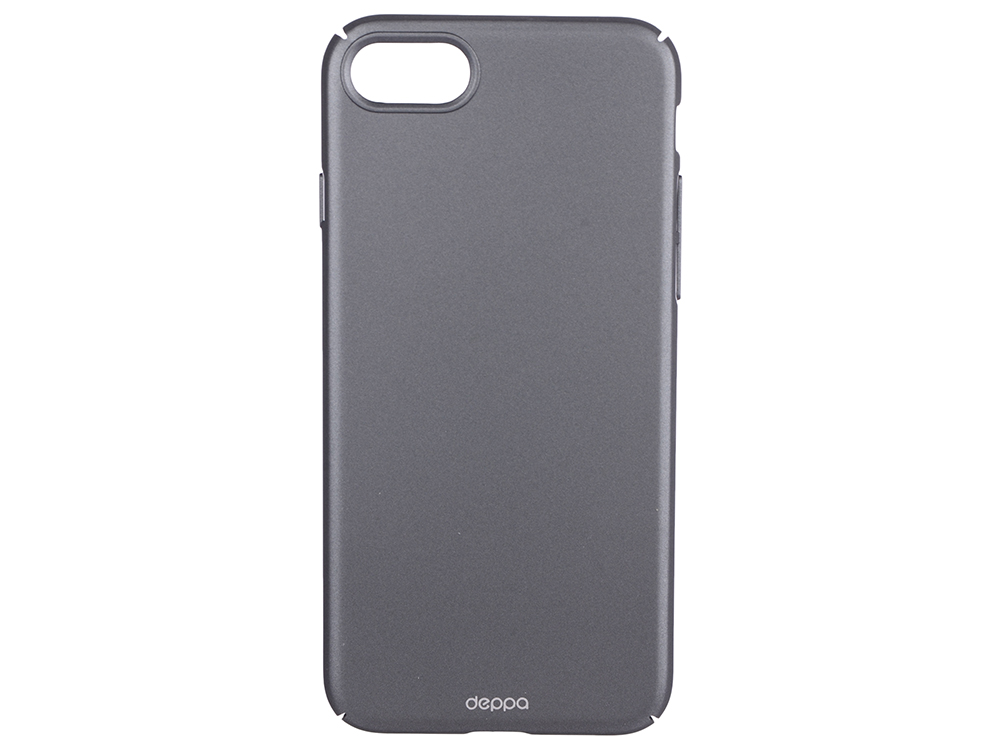 Чехол-накладка для Apple iPhone 7 Deppa Air Case Graphite клип-кейс, поликарбонат deppa gel plus case чехол для apple iphone 7 graphite