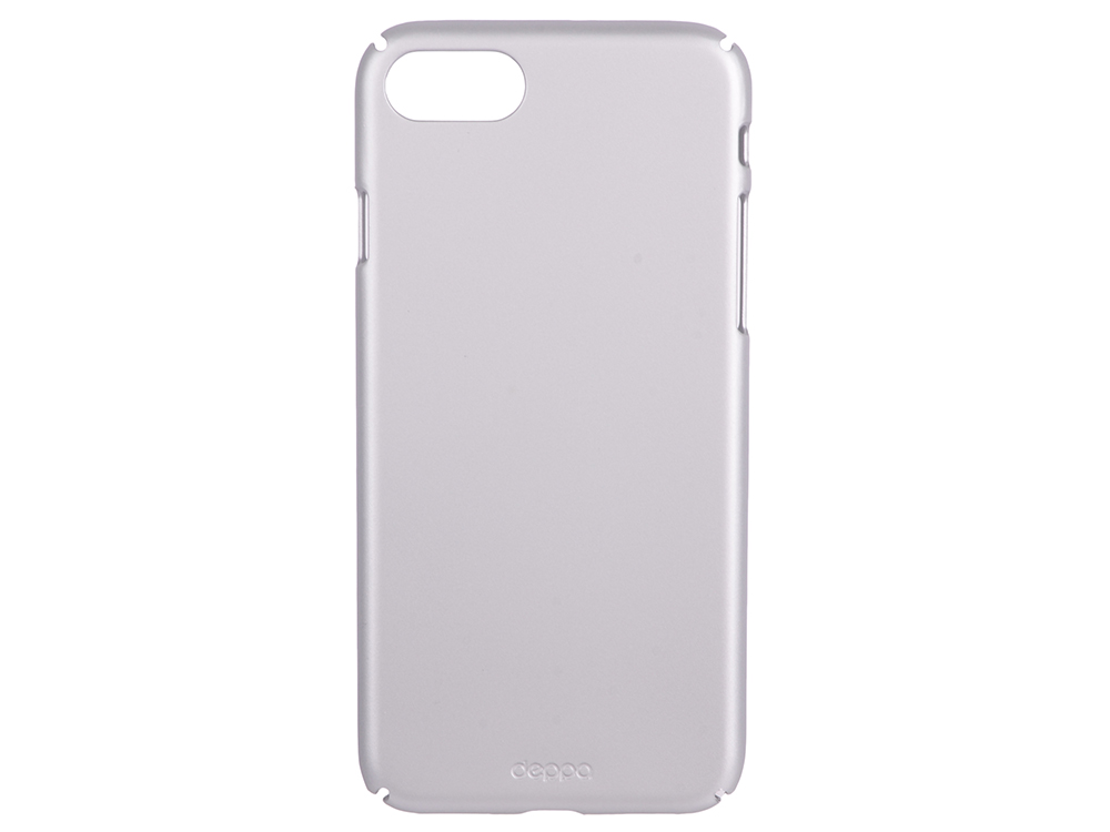 Чехол-накладка для Apple iPhone 7 Deppa 83268 Air Case Silver клип-кейс, пластик
