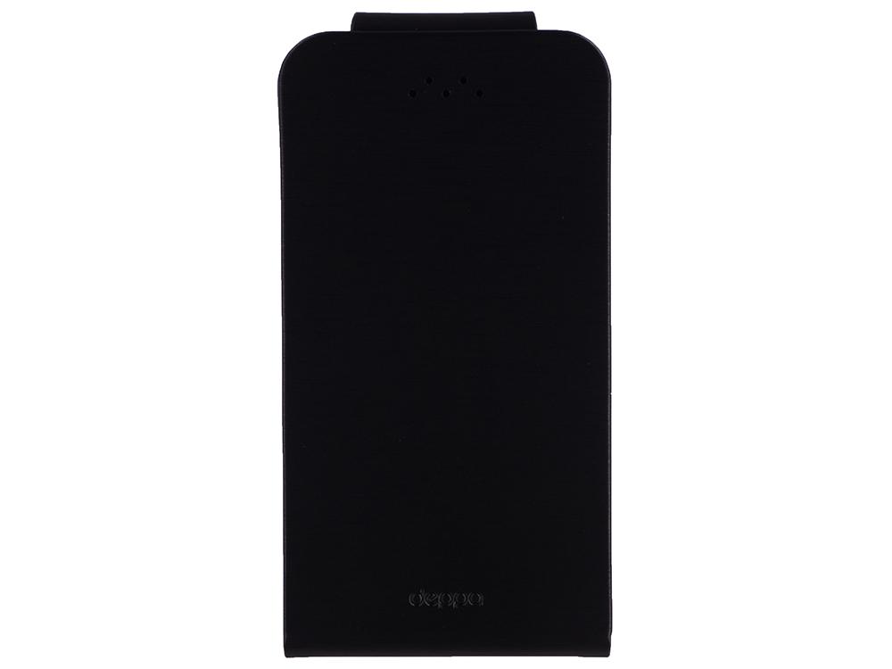 Чехол Deppa 87020 для смартфонов Flip Fold M 4.3''-5.5'', черный deppa nanosim