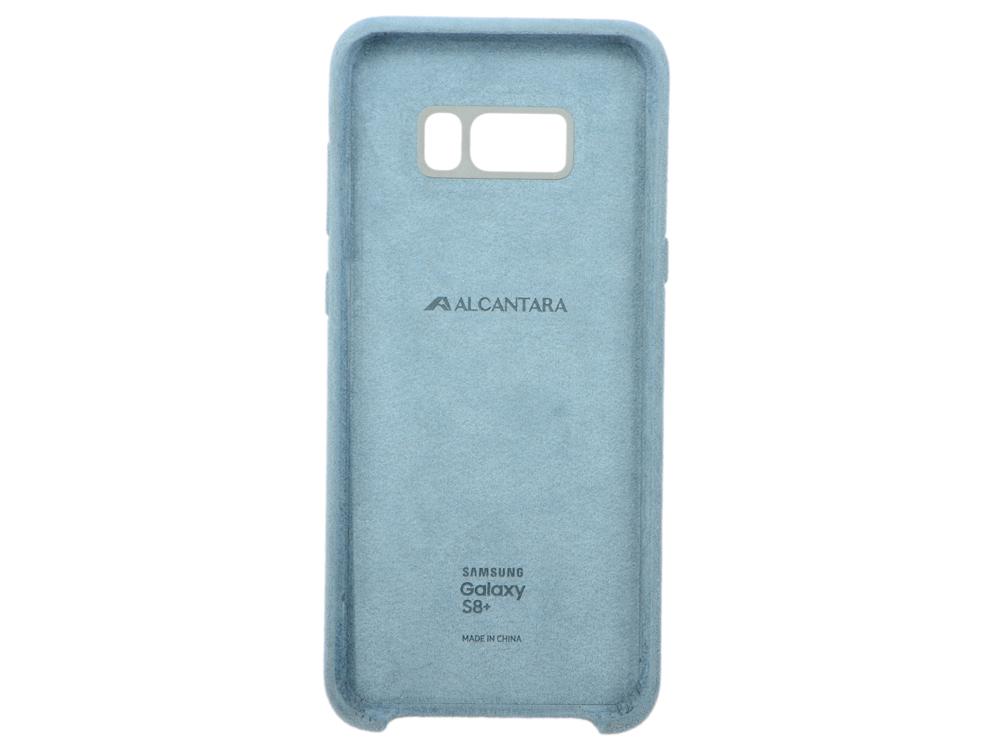 Чехол для Samsung Galaxy S8+ Samsung Alcantara Cover Blue клип-кейс, поликарбонат blue feather design кожа pu откидной крышки кошелек карты держатель чехол для samsung j5prime