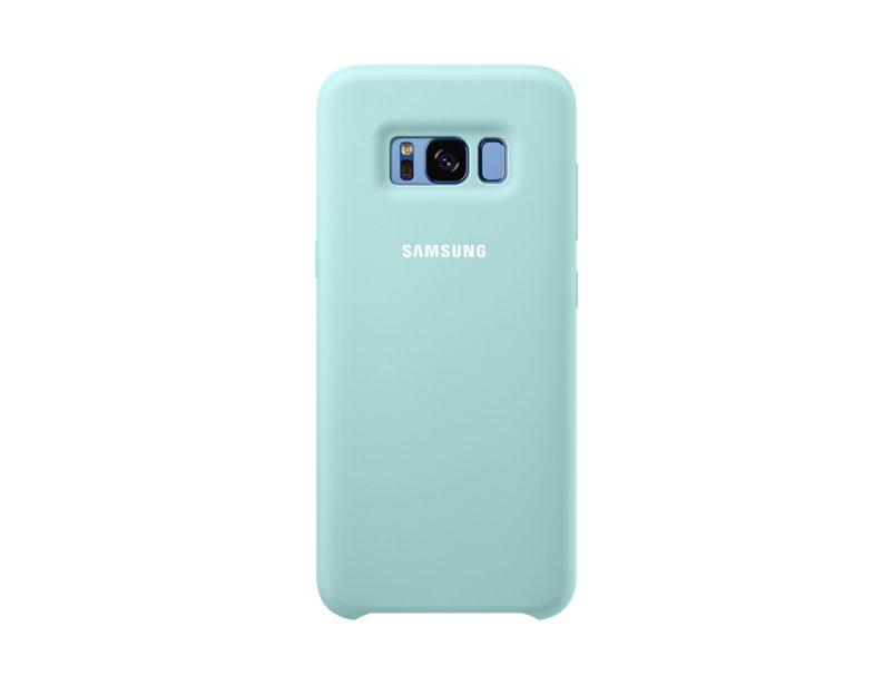 Чехол Samsung EF-PG950TLEGRU для Samsung Galaxy S8 Silicone Cover голубой