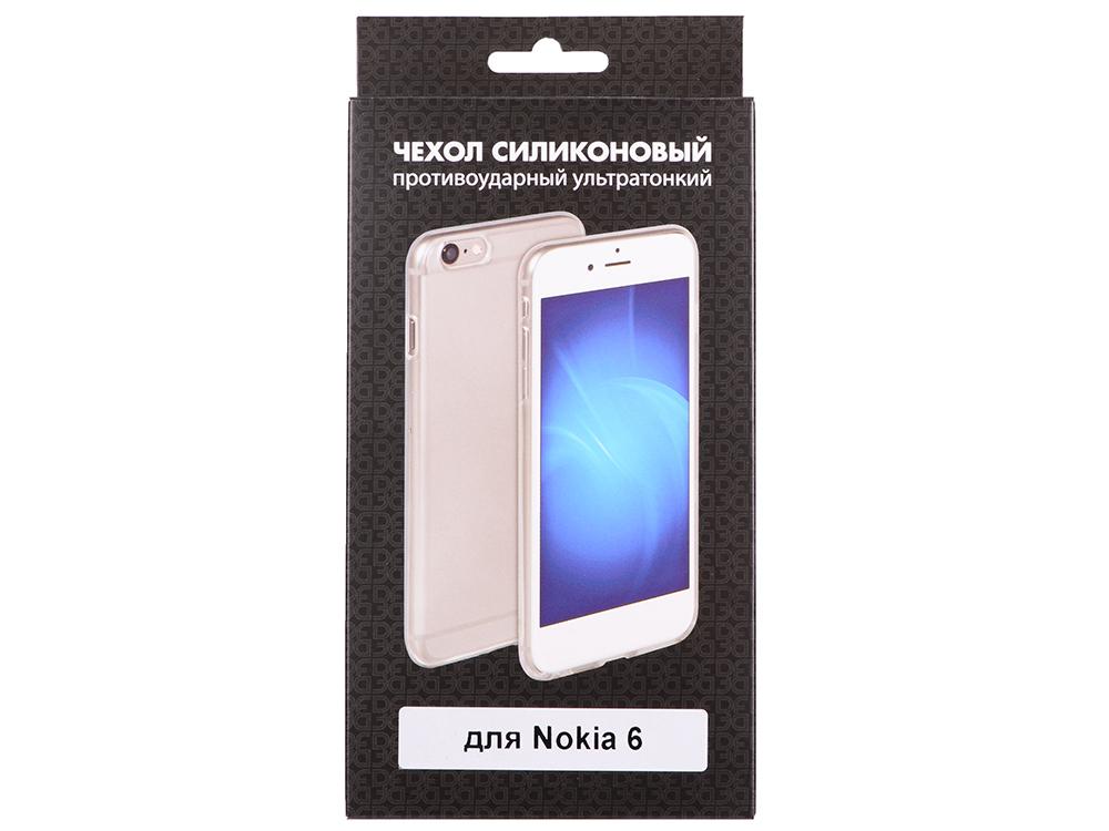 Силиконовый чехол для Nokia 6 DF nkCase-03 nokia c5 03 в самаре