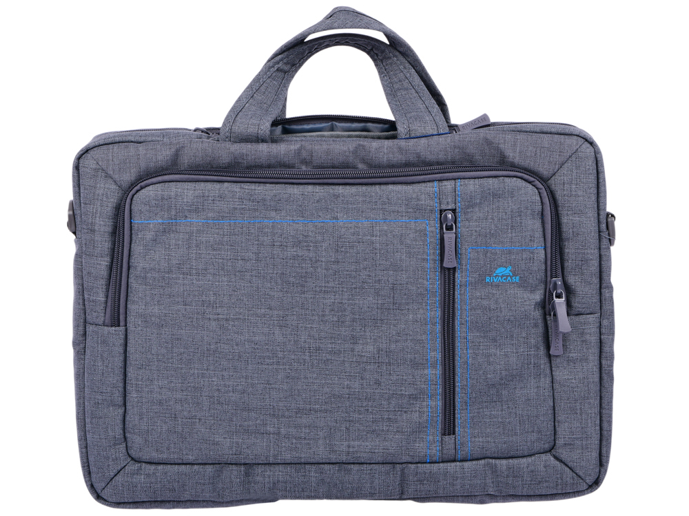 Сумка для ноутбука 15.6 Riva 7530 полиэстер серый adda ad7512hb 7530 dc12v 0 24a