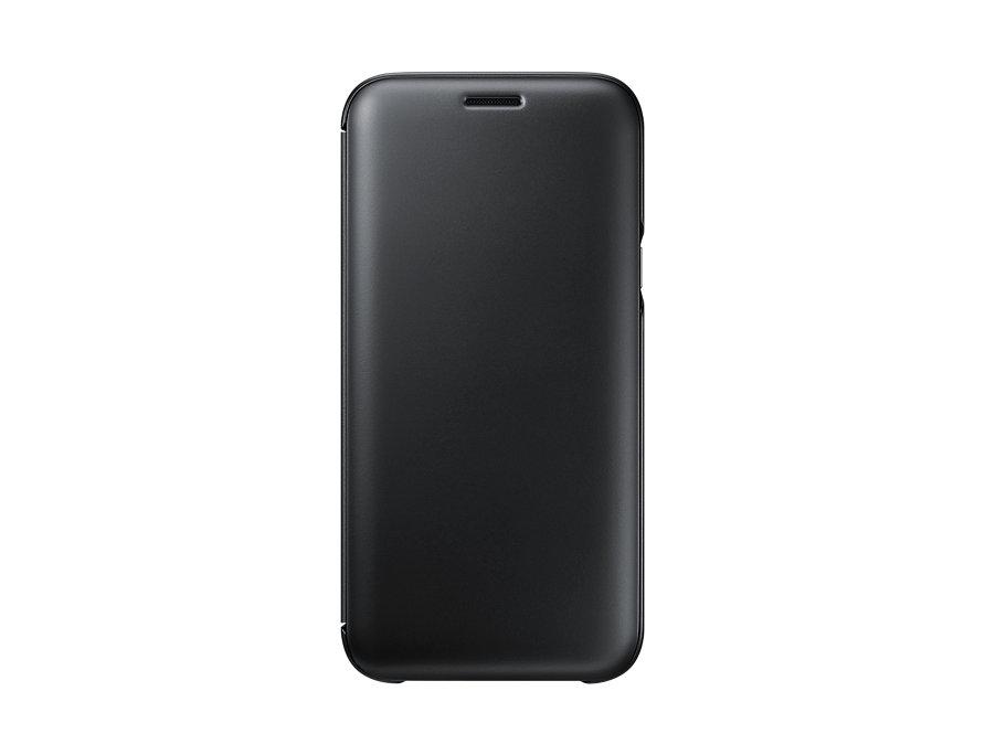 Чехол Samsung EF-WJ530CBEGRU для Samsung Galaxy J5 2017 Wallet Cover черный samsung glitter cover ef xn920clegru blue
