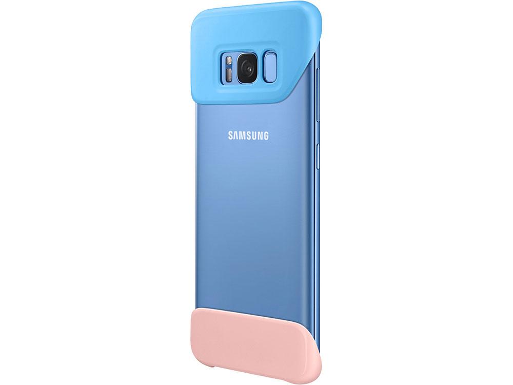 Чехол Samsung EF-MG950KMEGRU для Samsung Galaxy S8 2Piece Cover фиолетовый чехол клип кейс samsung silicone cover для samsung galaxy s8 фиолетовый [ef pg955tvegru]