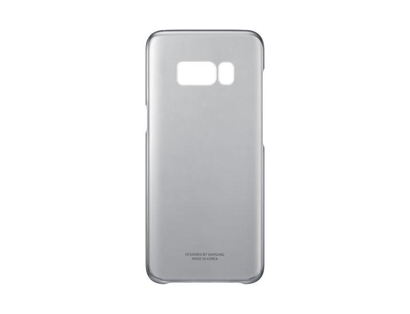 Чехол Samsung EF-QG955CBEGRU для Samsung Galaxy S8+ Clear Cover черный/прозрачный чехол для сотового телефона samsung galaxy s8 clear cover gold ef qg950cfegru