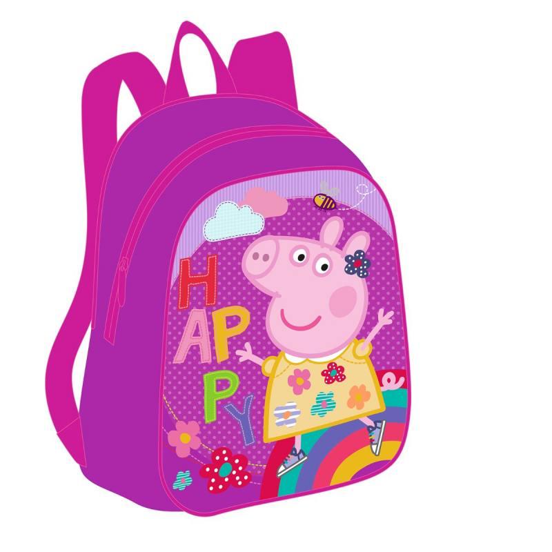 Рюкзачок дошкольный малый Росмэн Happy Peppa Pig росмэн peppa pig superstar
