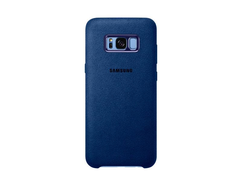 Чехол Samsung EF-XG955ALEGRU для Samsung Galaxy S8+ Alcantara Cover голубой чехол для сотового телефона samsung galaxy note 8 alcantara blue ef xn950ajegru