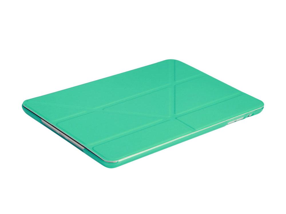 """Чехол IT BAGGAGE для планшета iPad 2017 9.7"""" hard case иск.кожа бирюза с тонир.задней стенкой ITIPAD51-6"""