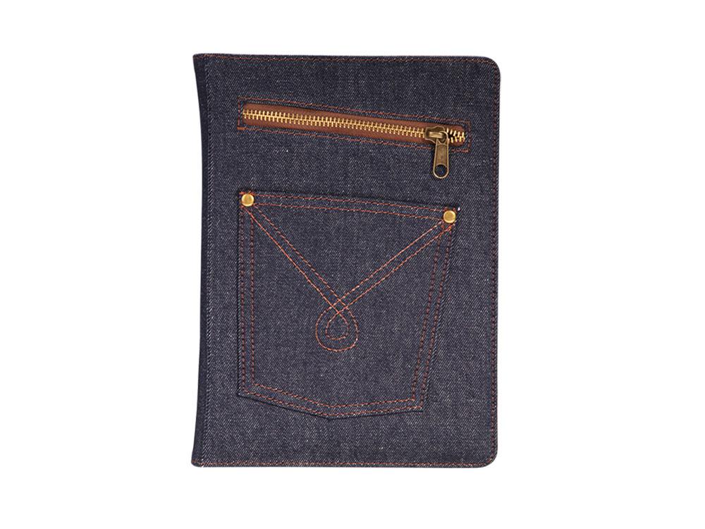 Чехол IT BAGGAGE для планшета iPad 2017 9.7 искус. кожа Jeans синий ITIPAD58-4