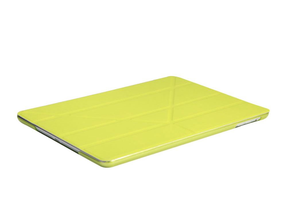 """Чехол IT BAGGAGE для планшета iPad 2017 9.7"""" hard case иск.кожа лайм с тонир.задней стенкой ITIPAD51-5"""