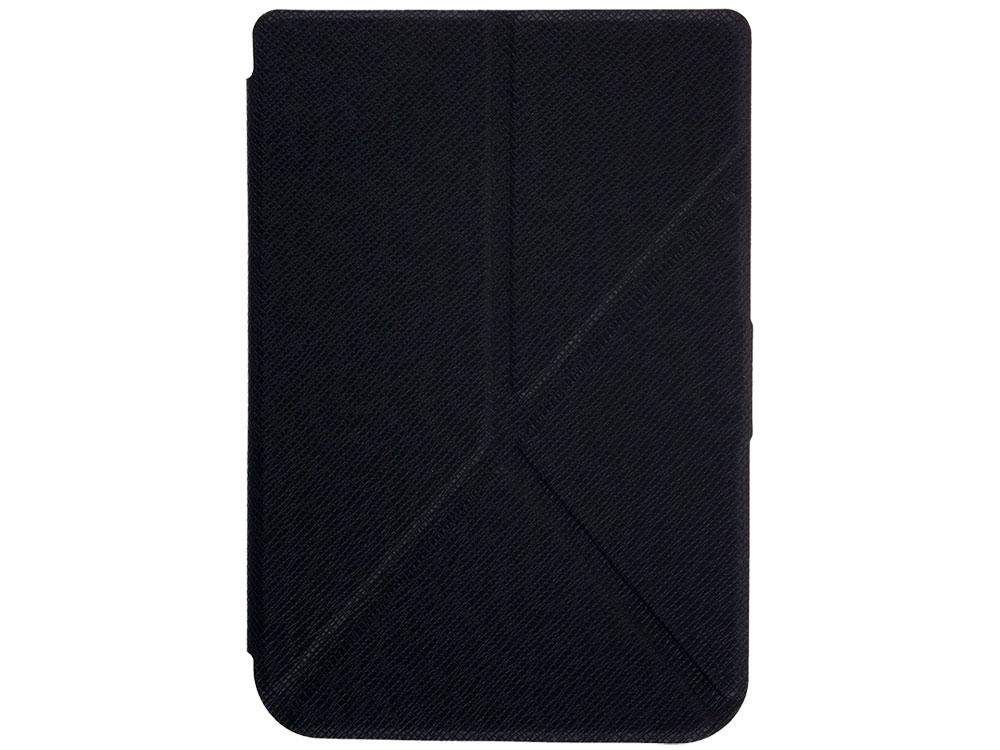 Обложка PocketBook для PocketBook 614/615/625/626 черный PBC-626-BK-TR-RU электронная книга pocketbook 626 plus grey 6 e ink carta 1024x758 touch screen 1ghz 256mb 4gb microsdhc подсветка дисплея