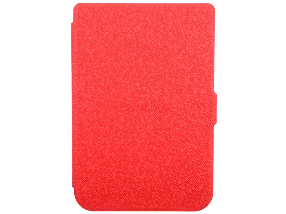 Обложка PocketBook для PocketBook 614/615/625/626 красный PBC-626-R-RU аксессуар чехол pocketbook 614 615 625 626 dark blue pbc 626 bl ru
