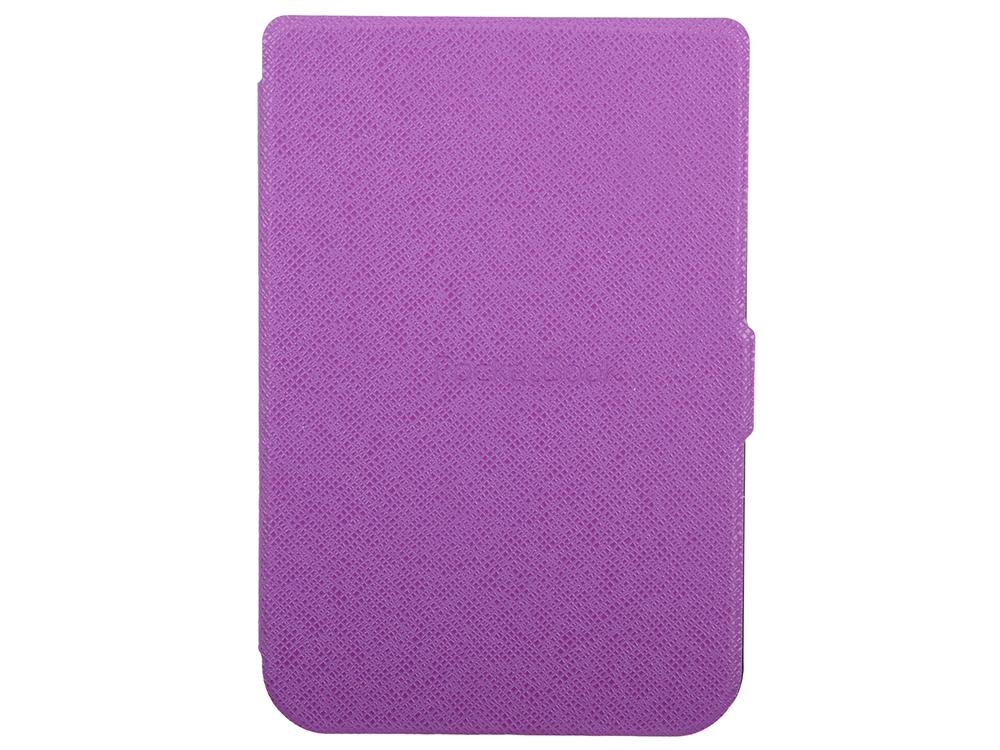 Обложка PocketBook для PocketBook 614/615/625/626 фиолетовый PBC-626-VL-RU электронная книга pocketbook 626 plus grey 6 e ink carta 1024x758 touch screen 1ghz 256mb 4gb microsdhc подсветка дисплея