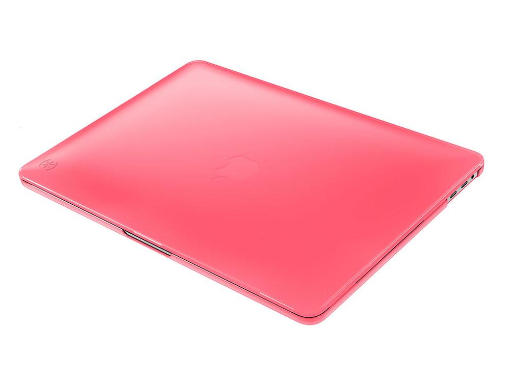 Чехол-накладка Speck SmartShell для MacBook Pro 2016 15 с Touch Bar. Материал пластик. Цвет розовый
