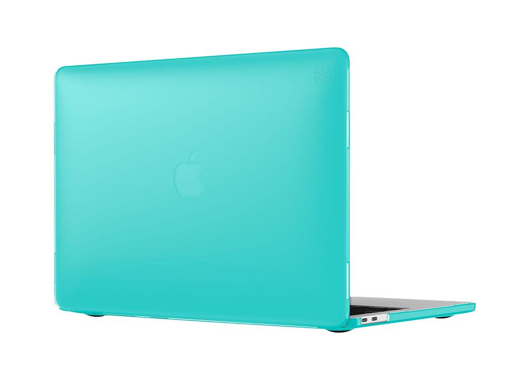 "Чехол-накладка Speck SmartShell для ноутбука MacBook Pro 13"" с Touch Bar. Материал пластик. Цвет: си чехол для ноутбука macbook pro 15 speck smartshell пластик синий 90208 b189"