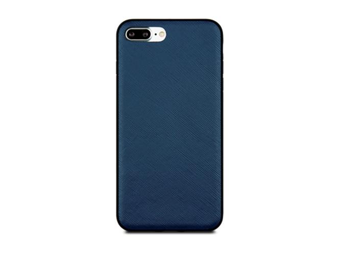 Чехол dbramante1928 London для iPhone 7 Plus. Материал натуральная кожа/пластик. Цвет синий. чехол dbramante1928 tokyo для ipad 2017 кожа пластик черный toninibl5068