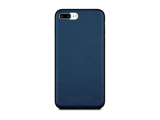 Чехол dbramante1928 London для iPhone 7 Plus. Материал натуральная кожа/пластик. Цвет синий. swash london чехол