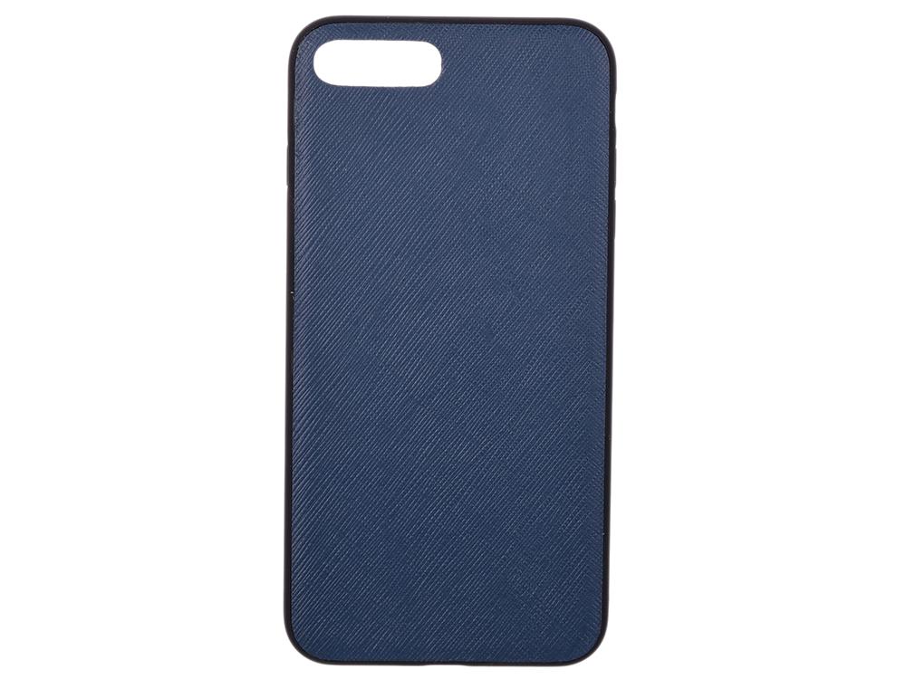 Чехол dbramante1928 London для iPhone 7 Plus. Материал натуральная кожа/пластик. Цвет синий. цена и фото