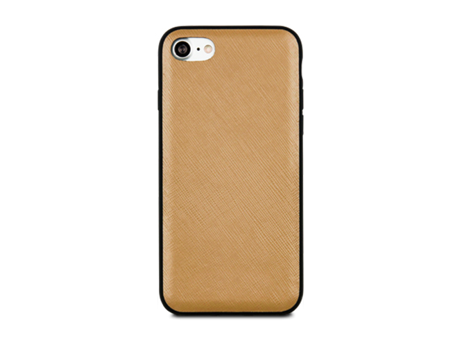 Чехол dbramante1928 London для iPhone 7. Материал натуральная кожа/пластик. Цвет светло-коричневый. playboy светло коричневый 45 ярдов