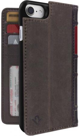 Чехол-книга в твердом переплете Twelve South BookBook для iPhone 7. Материал кожа. Цвет: коричневый. jd коллекция книга в твердом переплете a чашка суб мыло цветочные ящики благородный фиолетовый дефолт