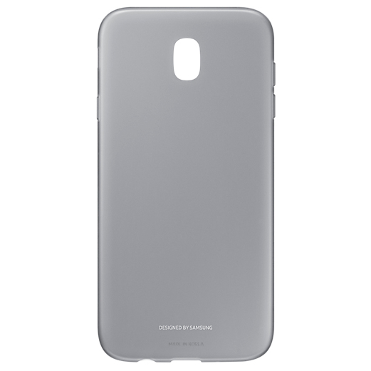 Чехол Samsung EF-AJ730TBEGRU для Samsung Galaxy J7 2017 Jelly Cover черный цена и фото