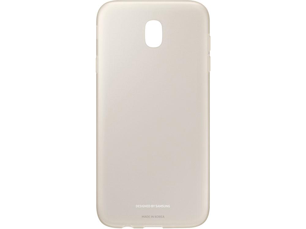 Чехол Samsung EF-AJ730TFEGRU для Samsung Galaxy J7 2017 Jelly Cover золотистый цены онлайн