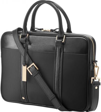 Сумка для ноутбука 14 HP Case Spectre Slim Topload черный W5T45AA сумка для ноутбука hp signature topload case 15 6 l6v65aa