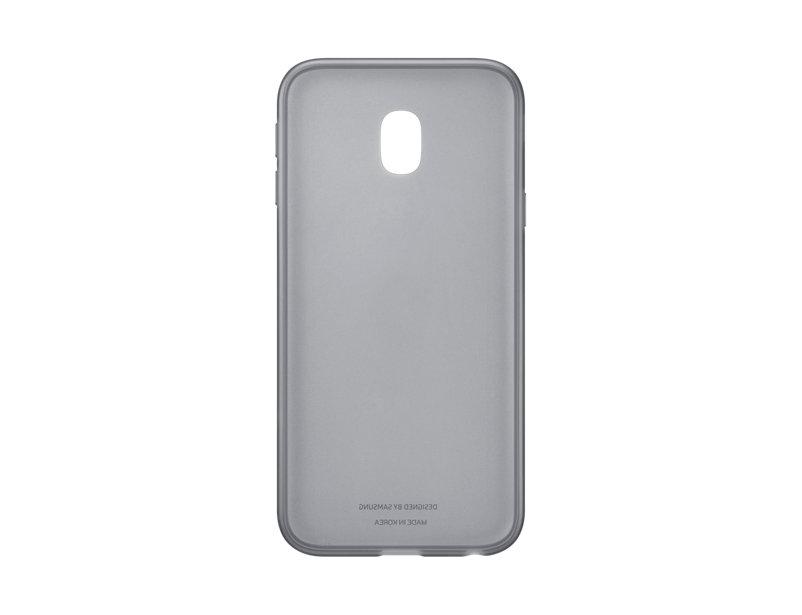 Чехол Samsung EF-AJ330TBEGRU для Samsung Galaxy J3 2017 Jelly Cover черный