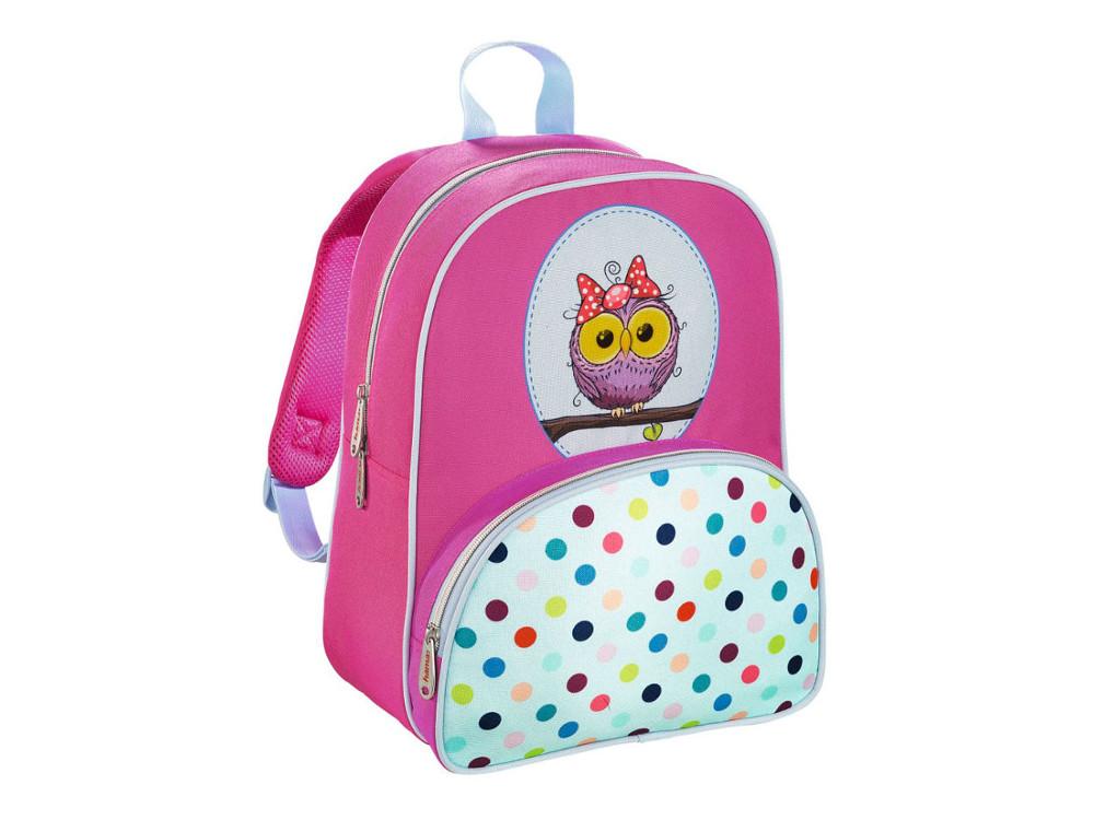 Рюкзак детский Hama Sweet Owl розовый/голубой 00139105 ранец hama hama ранец жесткокаркасный sweet owl