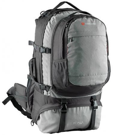Рюкзак для путешествий Caribee JET PACK 65 УГОЛЬНО-СЕРЫЙ