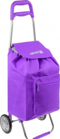 Сумка-тележка Gimi Argo фиолетовый гарнитуры душевые argo набор для биде лейка шланг кронштейн argo dina блистер