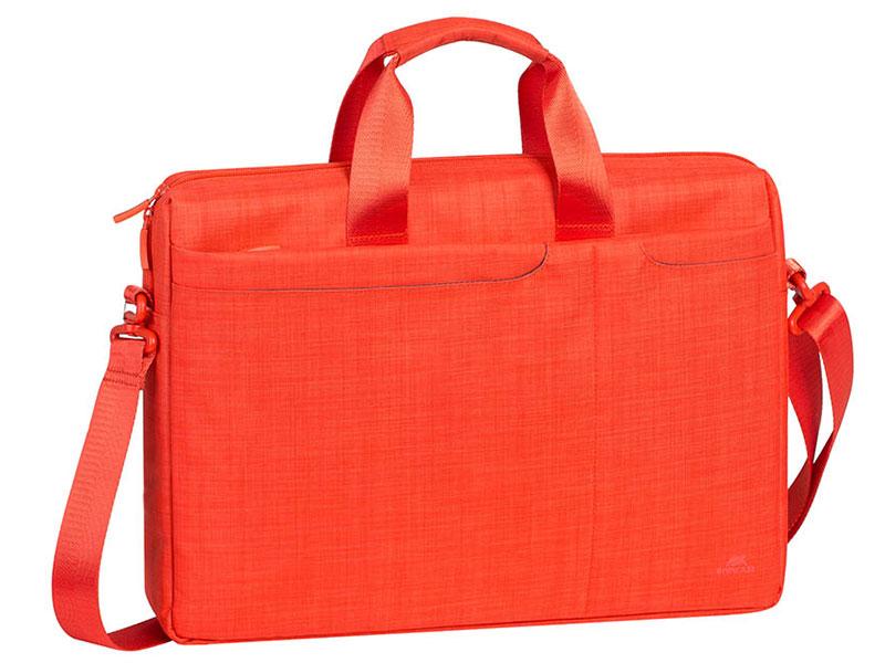 Сумка для ноутбука 15.6 Riva 8335 полиэстер оранжевый riva 9101 ultraviolet