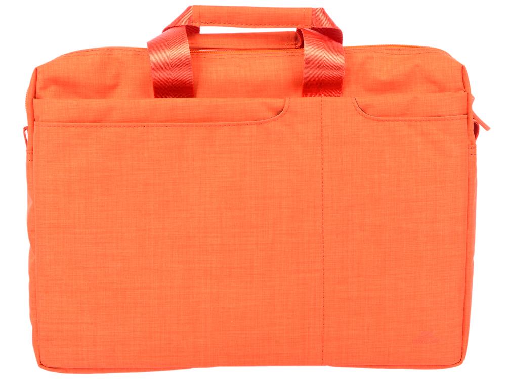 Сумка для ноутбука 15.6 Riva 8335 полиэстер оранжевый цена