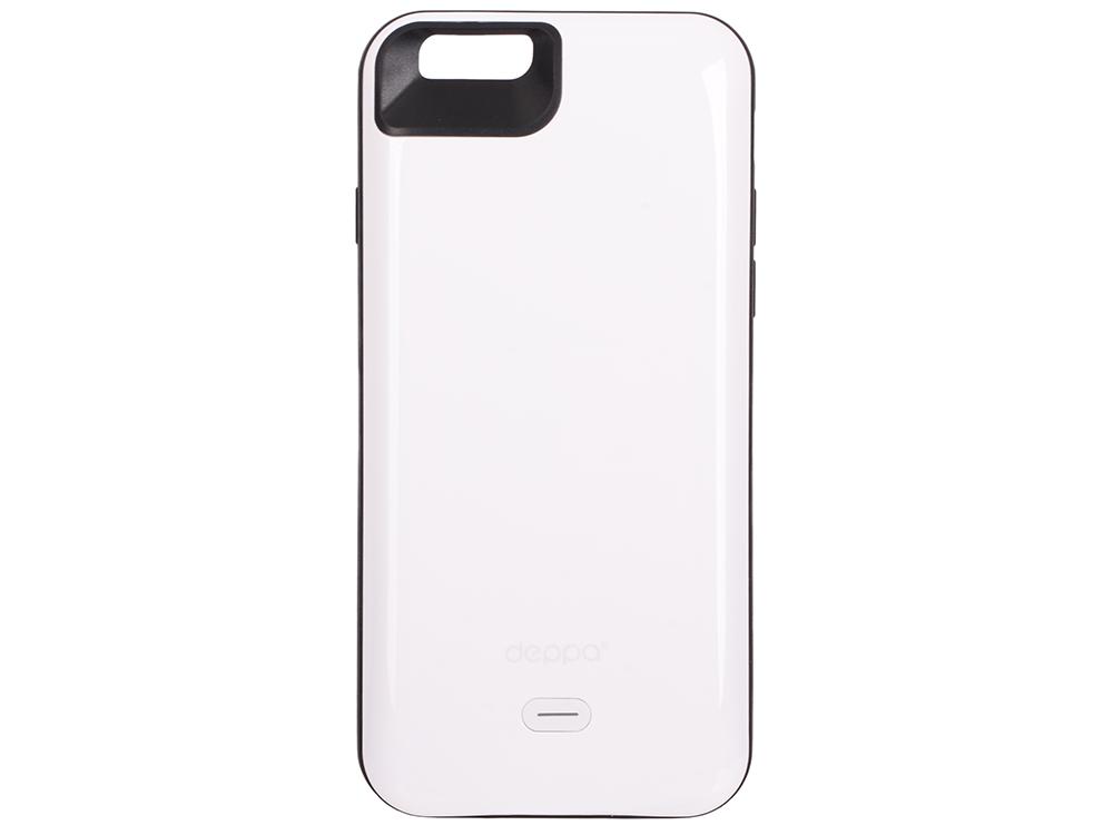 Аккумулятор Deppa Чехол-аккумулятор NRG Case для Apple iPhone 6/6S, 2600mAh, белый, Deppa