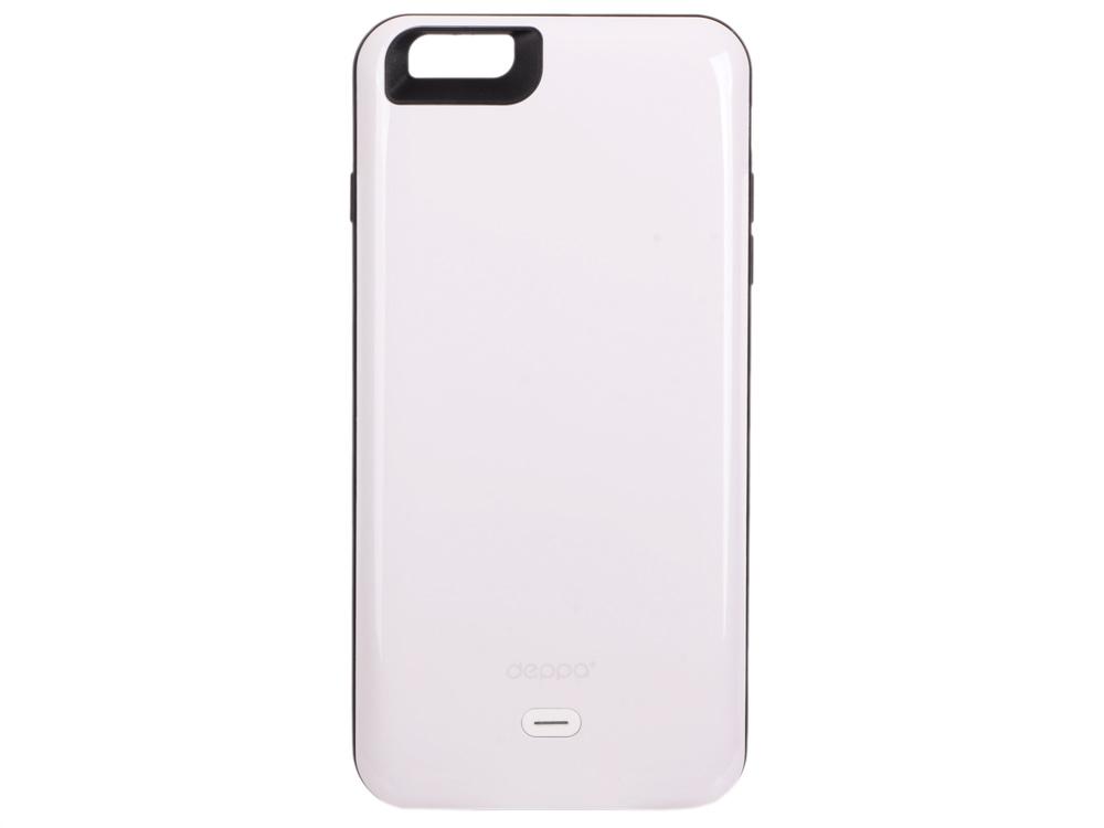 Аккумулятор Deppa Чехол-аккумулятор NRG Case для Apple iPhone 6/6S Plus, 3800mAh, белый, Deppa чехол аккумулятор deppa nrg case для iphone 7 plus белый