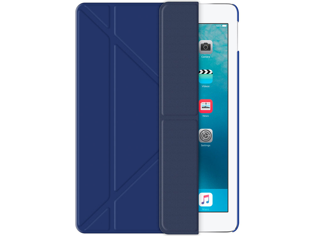 Чехол Deppa подставка Wallet Onzo для Apple iPad Pro 9.7, синий, Deppa