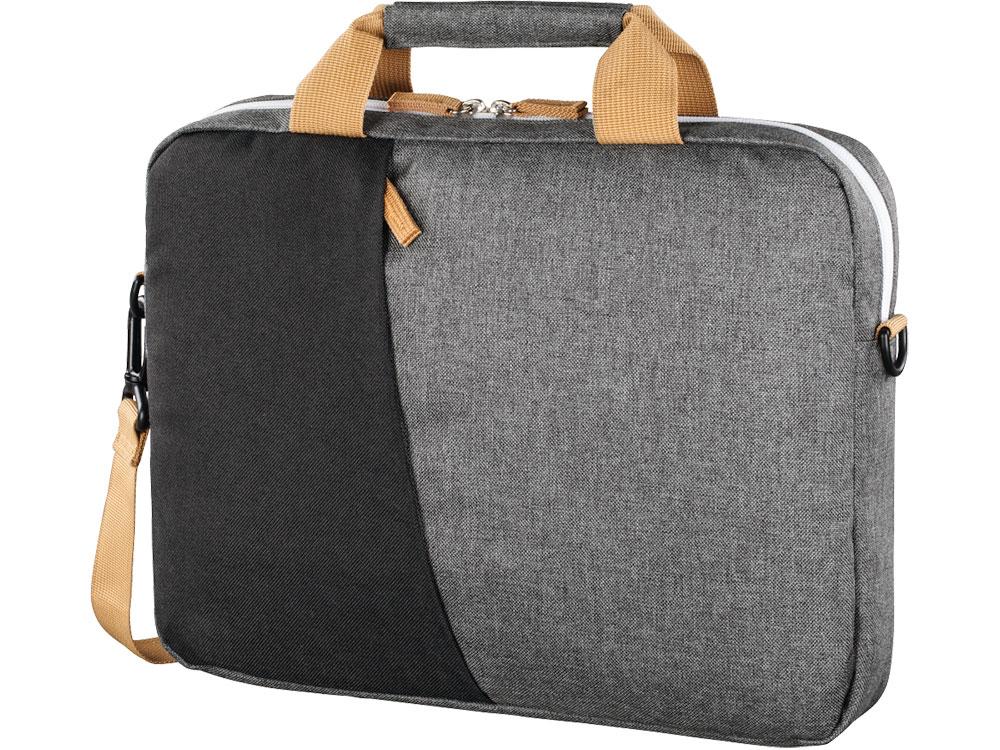 Сумка для ноутбука 15.6 Hama Florence черный/серый полиэстер (00101568) чехол для ноутбука 13 3 hama florence полиэстер серый зеленый 00101571