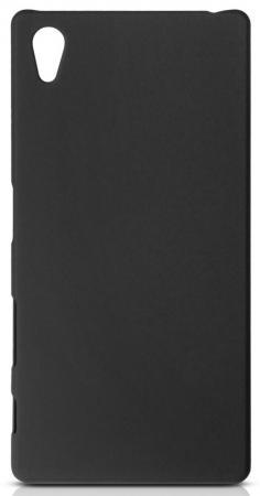 Чехол Soft-Touch для Sony Xperia Z5 DF xSlim-12 черный sony xperia j черный и забрать в золотом вавилоне