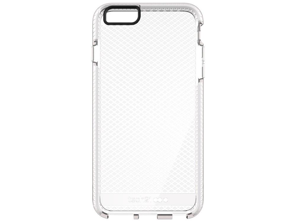 Накладка Tech21 Evo Check для iPhone 6 Plus/iPhone 6S Plus (T21-5157) Прозрачный/белый чехол накладка для iphone 6 ozaki o coat 0 3 jelly oc555tr пластик прозрачный