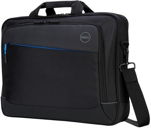 Сумка для ноутбука 15.6 Dell Professional черный 460-BCFK сумка для ноутбука 14 dell 460 bcbf синтетика черный