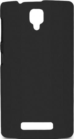 Чехол Soft-Touch для Lenovo A2010 DF LSlim-11 черный