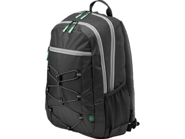Рюкзак для ноутбука 15.6 HP Active Backpack черный серый 1LU22AA рюкзак 15 6 hp active серый [1lu23aa]