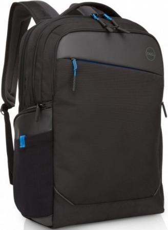 Рюкзак для ноутбука 17 DELL Professional 460-BCFG синтетика черный сумка для ноутбука 15 6 dell professional черный 460 bcfk