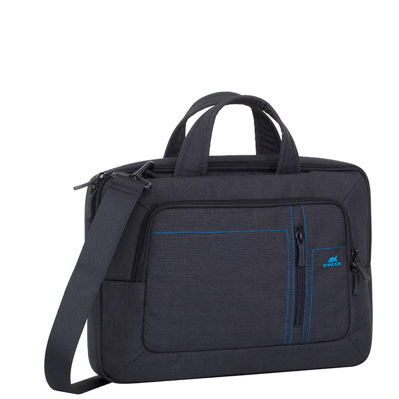 Сумка для ноутбука 13. Riva 7520 полиэстер черный